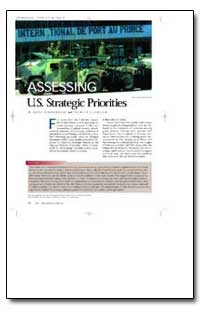 Assessing U. S. Strategic Priorities by Binnendijk, Hans