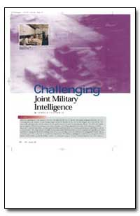 Challenging Joint Military Intelligence by Clapper, James R.