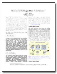 Resources for the Design of Data Fusion ... by Mcgirr, Scott C.