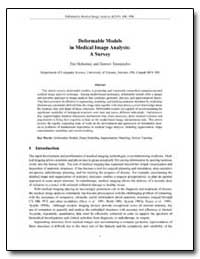 Deformable Models in Medical Image Analy... by Mcinerney, Tim
