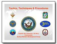 Tactics, Techniques, And Procedures for ... by Peterman, Ron, Captain