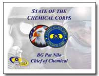 State of the Chemical Corps by Department of Defense