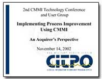 Implementing Process Improvement Using C... by Department of Defense