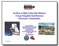 In-Port or High Value Site Defense Using... by Martin, Scott G.