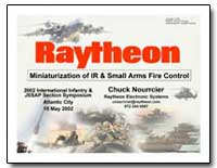 Miniaturization of Ir & Small Arms Fire ... by Department of Defense