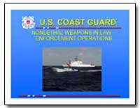 U.S. Coast Guard Nonlethal Weapons in La... by Department of Defense