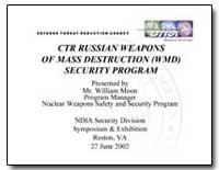 Ctr Russian Weapons of Mass Destruction ... by Moon, William