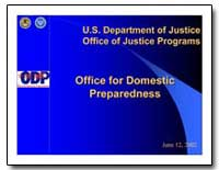 U.S. Department of Justice Office of Jus... by Department of Defense