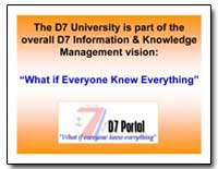 Tuhnei Is Part of the Overall D7 Informa... by Department of Defense