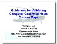 Guidelines for Validating Computer : Gen... by Luz, George A.