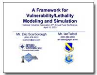 A Framework for Vulnerability Lethality ... by Scarborough, Eric
