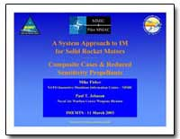 A System Approach to Im for Solid Rocket... by Department of Defense