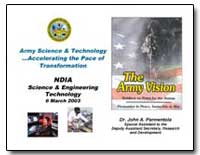 Ndia Science and Engineering Technology ... by Parmentola, John A., Dr.