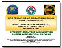Role of Modeling and Simulation in Reduc... by Department of Defense