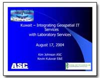 Kuwait : Integrating Geospatial It Servi... by Johnson, Kim
