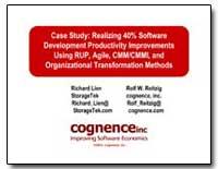 Case Study : Realizing 40% Software Deve... by Lien, Richard