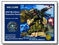 2004 Munitions Executive Summit Handout by Izzo, Paul S., Colonel