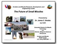 The Future of Small Missiles by Bradas, James C., Dr.