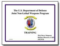 The U.S. Department of Defense Joint Non... by Simpson, Steve, Major