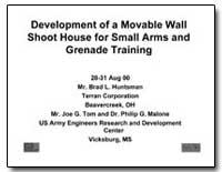 Development of a Movable Wall Shoot Hous... by Tom, Joe G.