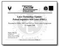 Laser Technology Update : Pulsed Impulsi... by Moore, Harry L.