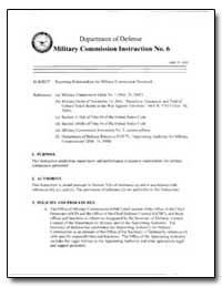 Reporting Relationships for Military Com... by Haynes, William J.