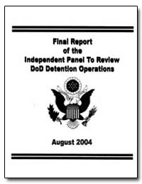 The Independent Panel to Review Departme... by Schlesinger, James R.