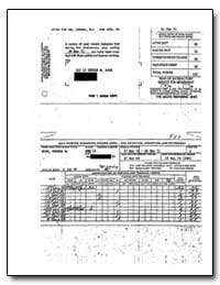 Application for Reserve Assignment, Bush... by Department of Defense