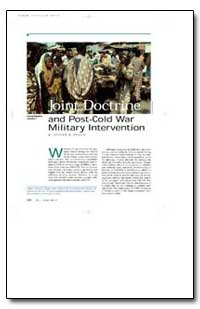 Joint Doctrine and Post-Cold War Militar... by Drago, Steven R.