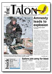 Amnesty Leads to Explosion by Benner, Brenda
