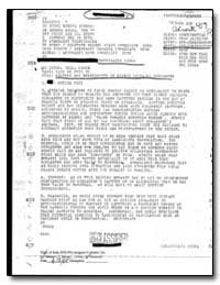 Welfare and Whereabouts of Bishop Salvad... by Department of National Security
