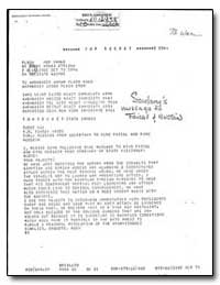 Message from Secretary to King Faisal an... by Department of National Security