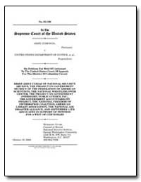 On Petition for Writ of Certiorari to th... by Department of National Security