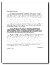 N. Khrushchev's Letter to Fidel Castro R... by Department of National Security