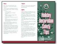 Holiday Decoration Safety Tips by