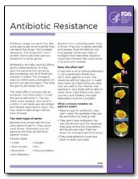 Antibiotic Resistance by