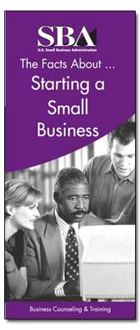 The Facts about Starting a Small Busines... by Small Business Administration