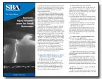 Economic Injury Disaster Loans for Small... by Small Business Administration