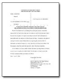 United States District Court for the Dis... by Zaid, Mark S.