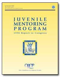 Juvenile Mentoring Program by Bilchik, Shay