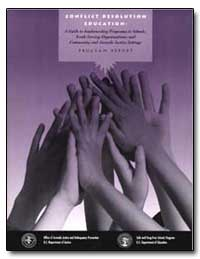 Conflict Resolution Education a Guide to... by Reno, Janet