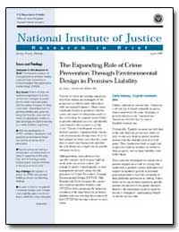 The Expanding Role of Crime Prevention t... by Travis, Jeremy