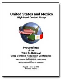 United States and Mexico High Level Cont... by Mccaffrey, Barry R.