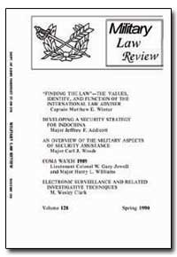 Finding the Law : The Values, Identity, ... by Winter, Matthew E.