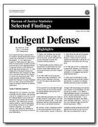 Indigent Defense by Smith, Steven K.