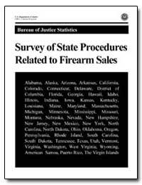 Bureau of Justice Statistics Survey of S... by Chaiken, Jan M.