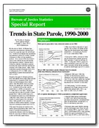 Bureau of Justice Statistics Special Rep... by Hughes, Timothy A.