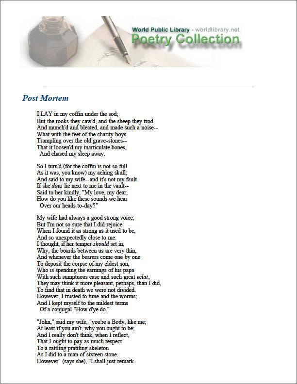 Post Mortem by Mun, Arthur