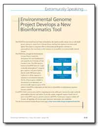 Environmental Genome Project Develops a ... by United Nations