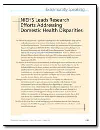 Niehs Leads Research Efforts Addressing ... by United Nations